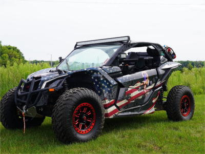 2017 Can-Am Maverick X3 Max X ds Turbo R - 15 x 7 -  -  -