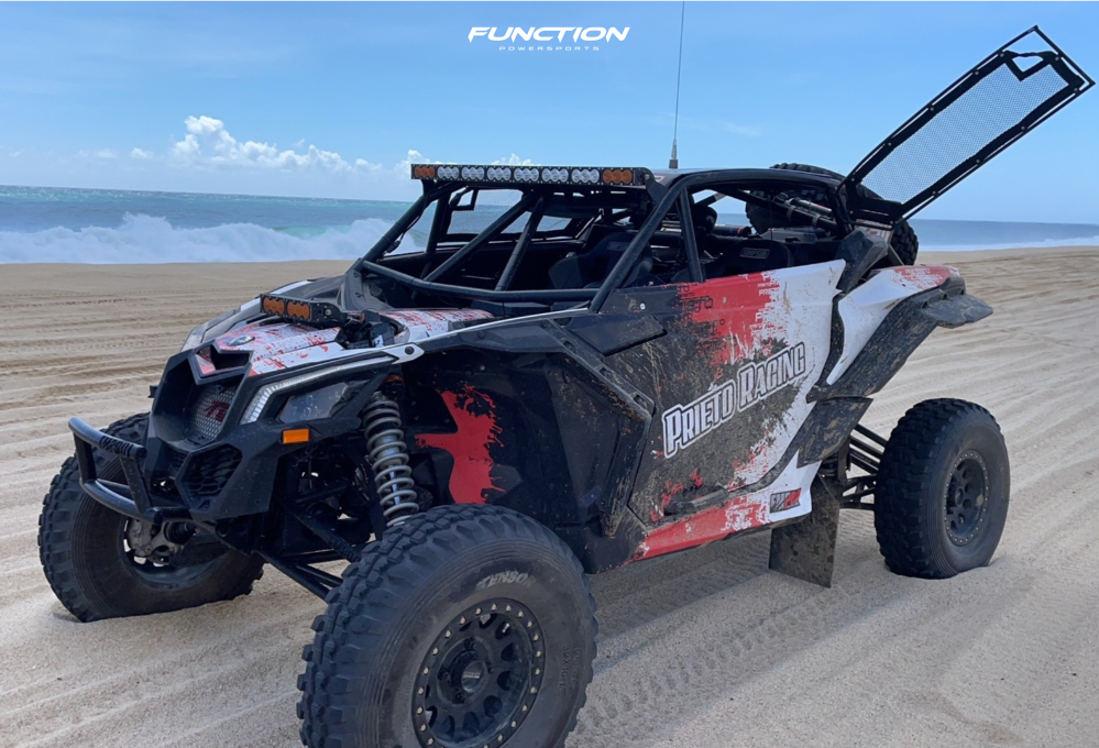 1 2021 Maverick X3 Max X Rs Turbo Rr Smart Shox Can Am Fox Racing 14 Method Mr405 Machined Black