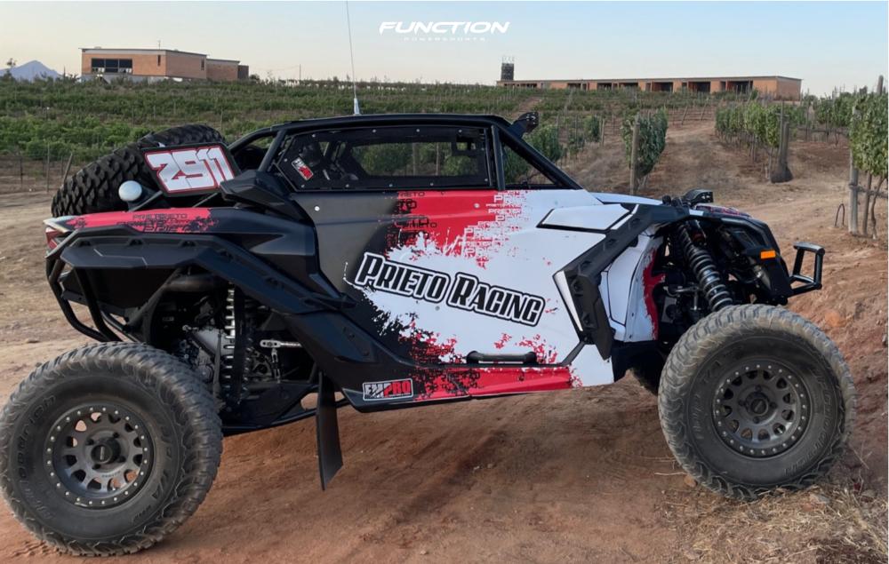 9 2021 Maverick X3 Max X Rs Turbo Rr Smart Shox Can Am Fox Racing 14 Method Mr405 Machined Black