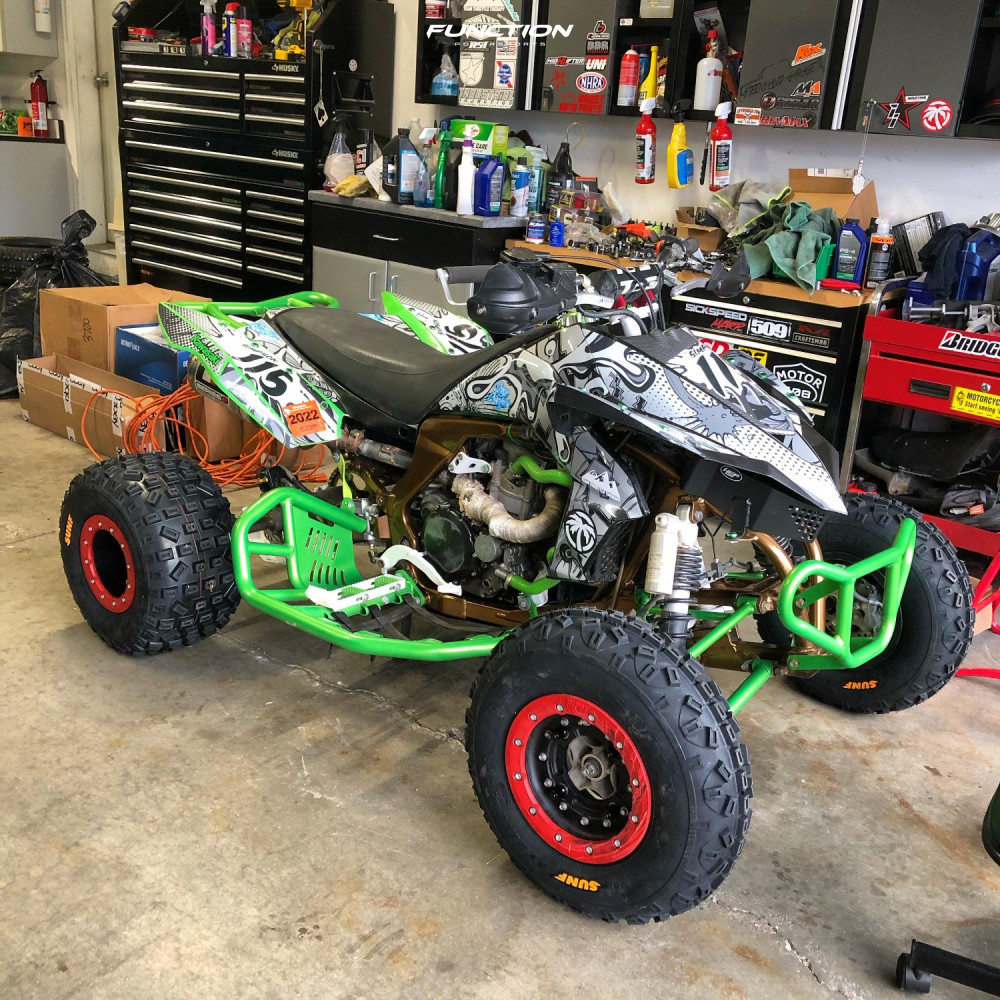 10 2008 Kfx450r Kawasaki Stock Other Other Red