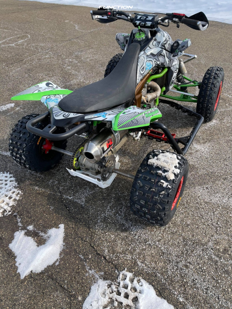 11 2008 Kfx450r Kawasaki Stock Other Other Red