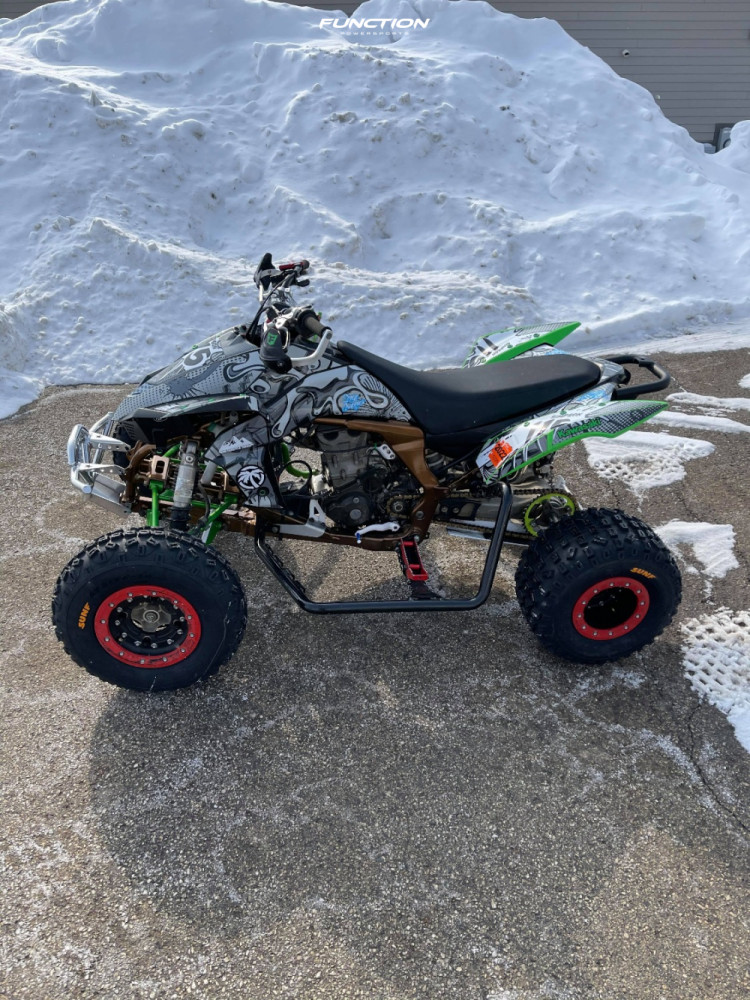 12 2008 Kfx450r Kawasaki Stock Other Other Red