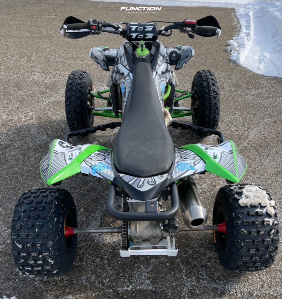 3 2008 Kfx450r Kawasaki Stock Other Other Red