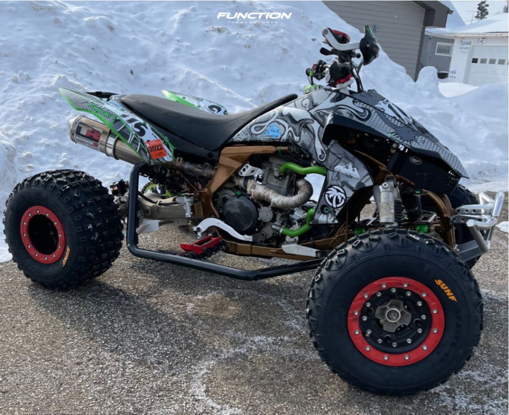 4 2008 Kfx450r Kawasaki Stock Other Other Red