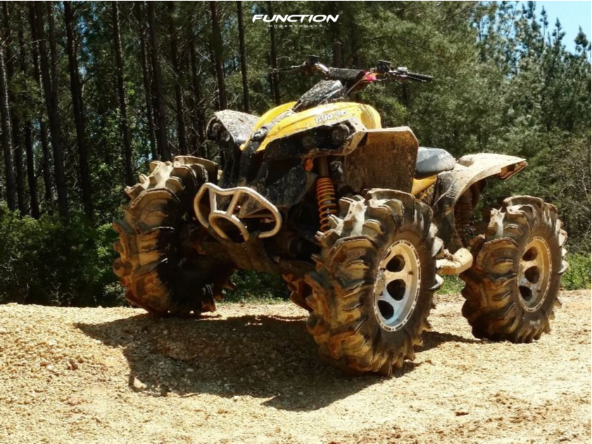 1 2014 Renegade 1000 Can Am Stock Outside Flares